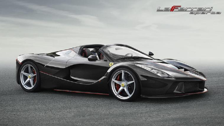 LaFerrari Aperta drifting video