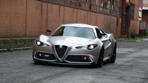 Mole Costruzione Artigianale 001 Alfa Romeo 4C