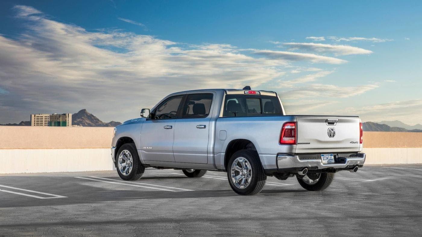 Ram 1500 2019 mild-hybrid US EPA