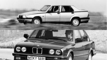 Alfa Romeo Alfa 75 vs BMW 325i
