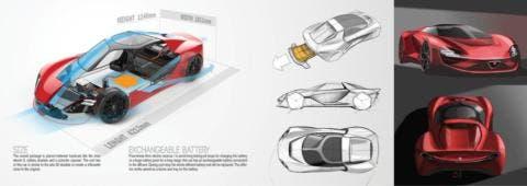 Alfa Romeo 33 Stradale nuova generazione concept