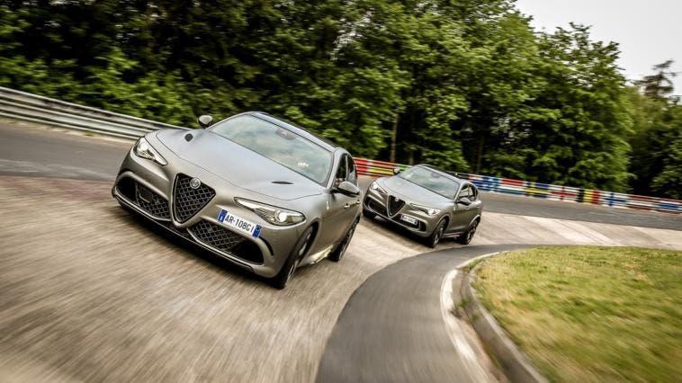 Alfa Romeo Giulia e Stelvio Quadrifoglio NRING prezzi Regno Unito