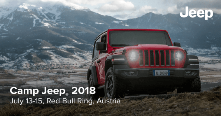 Camp Jeep 2018 record