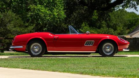 Ferrari 250 GT Ferris Bueller's Day Off asta