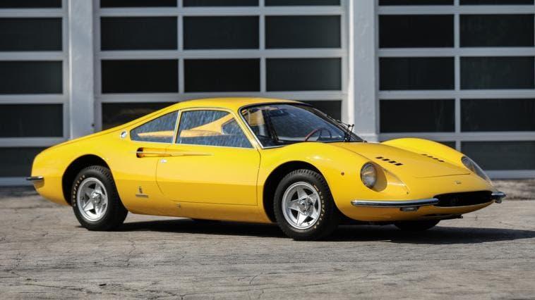 Ferrari Dino prototipo asta
