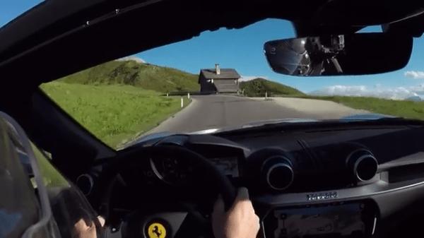 Ferrari Portofino drifting PowerslideLover