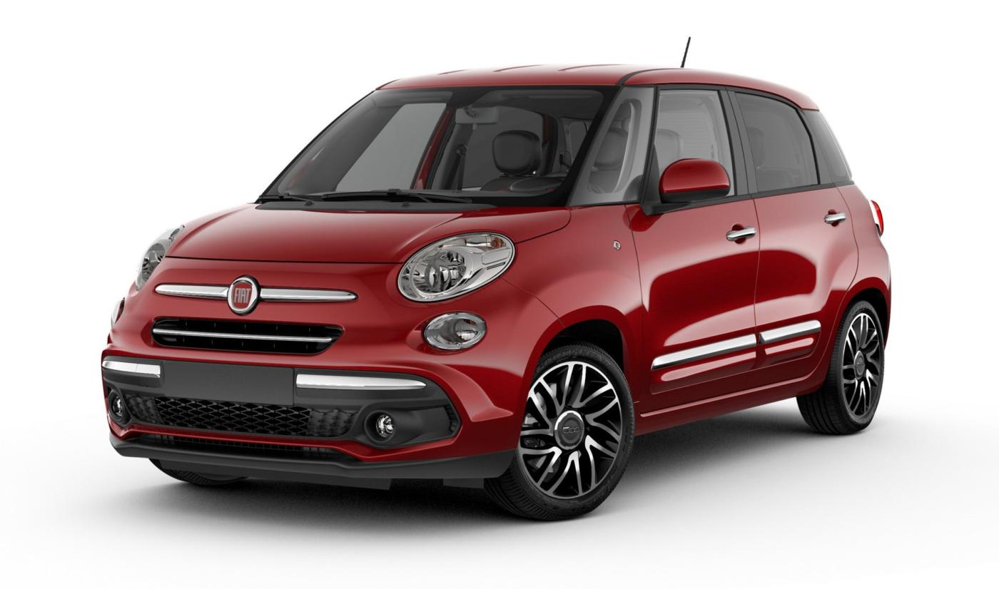 Fiat 500L e 500X 2018 USA Chrome Appearance