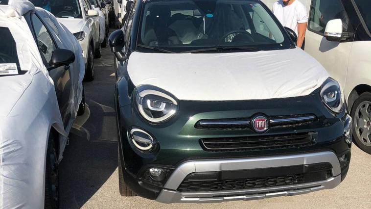 Fiat 500X nuovo restyling Cross Look