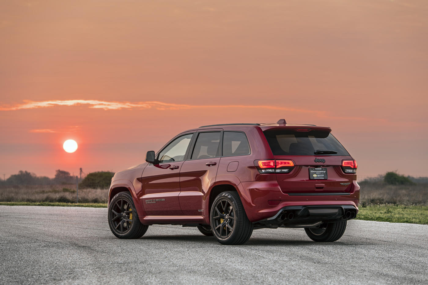 Jeep Grand Cherokee Trackhawk Hennessey HPE850