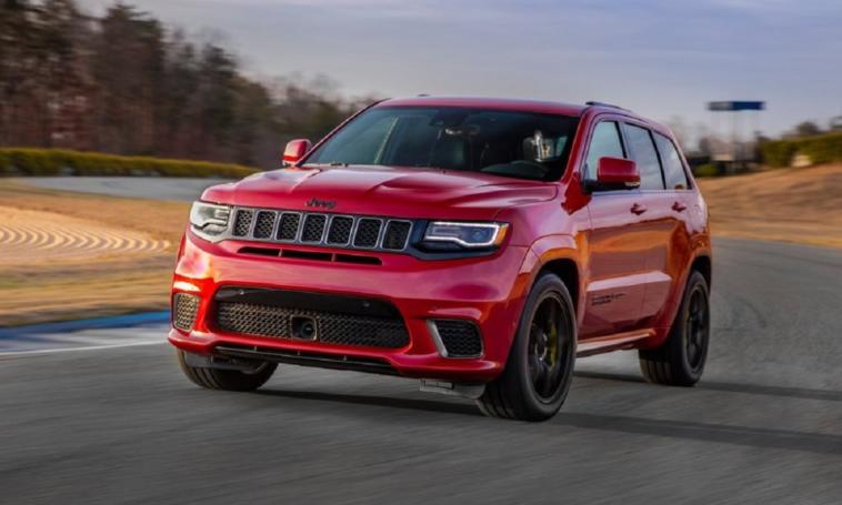 Jeep Grand Cherokee Trackhawk Redeye Rumor