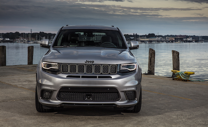 Jeep Grand Wagoneer Trackhawk documento rumor