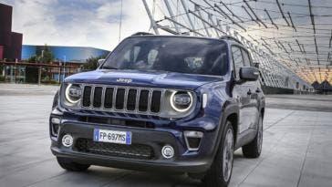 Jeep Renegade parcheggio autonomo video