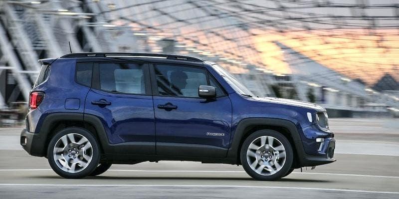 Jeep Renegade autonomous remote parking