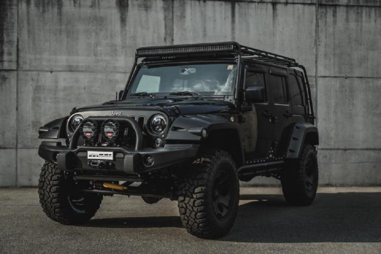 Jeep Wrangler Rubicon Cartech