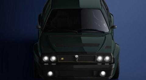 Lancia Delta Integrale Eugenio Amos