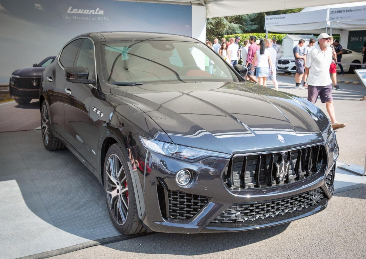 Maserati Levante Regno Unito motore V6 benzina