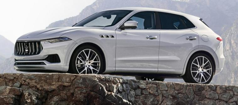 Maserati baby SUV render concept