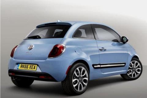 Nuova Fiat 500 render