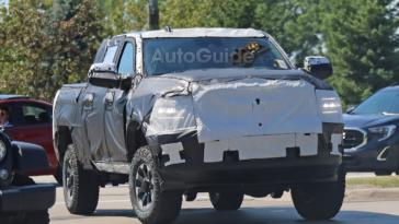 Ram 2500 Power Wagon 2020 foto spia