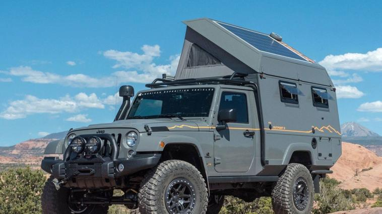 AEV Outpost II Jeep Wrangler camper