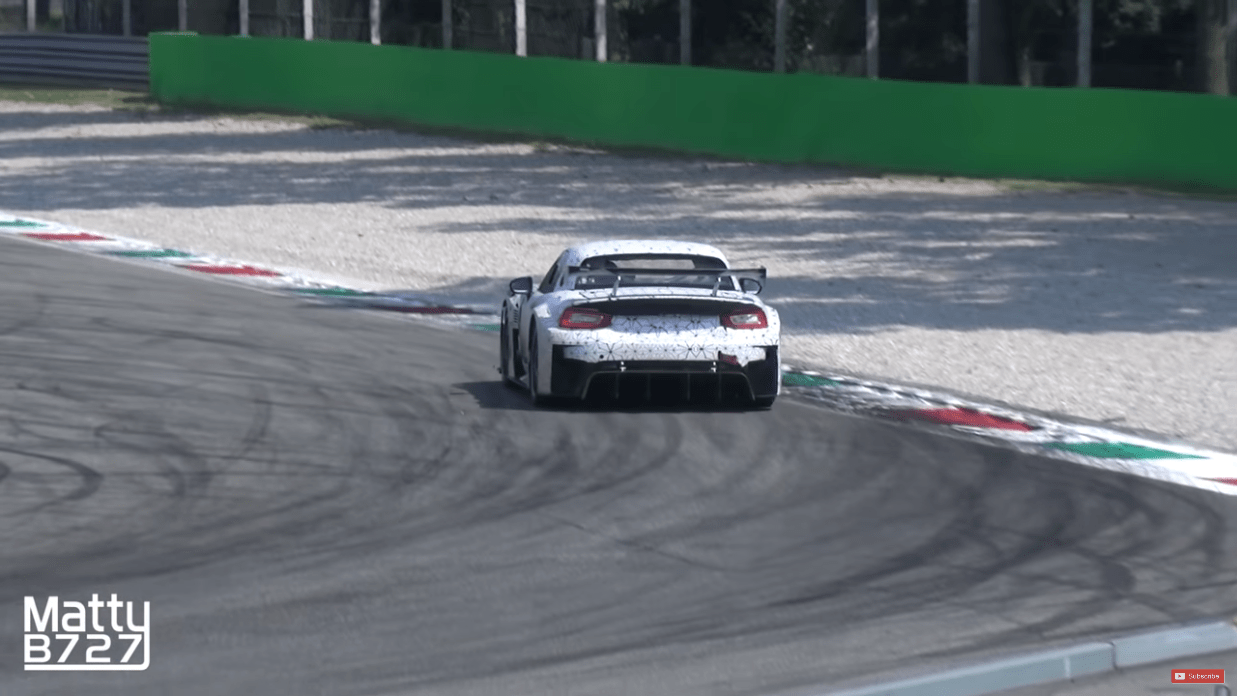 Abarth 124 GT4 video Monza