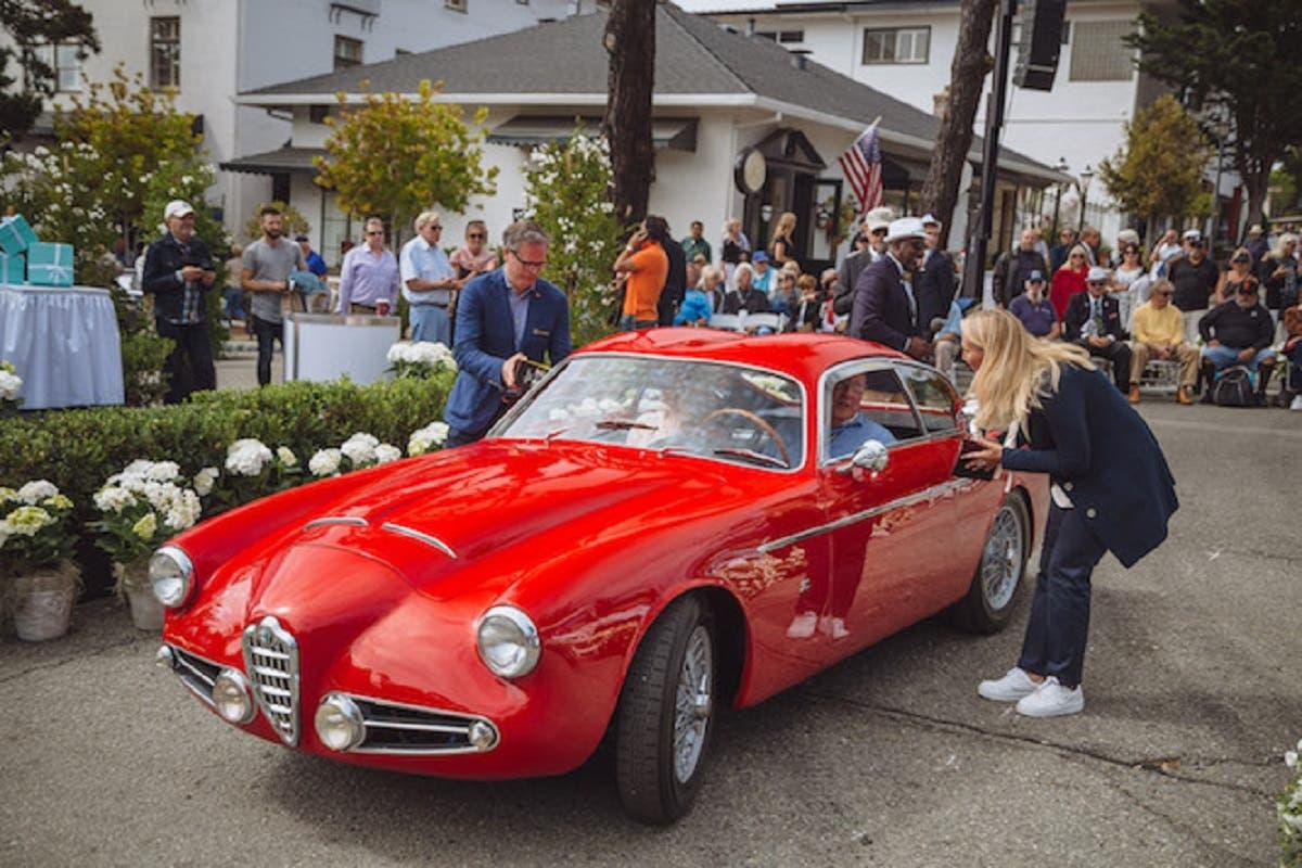 Alfa Romeo 1900 Super Sport vince un premio importante in occasione della Monterey Car Week
