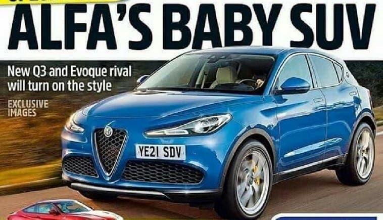 Alfa Romeo Baby Suv Auto Express Pubblica Immagine