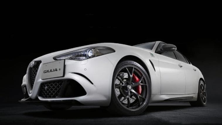 Alfa Romeo Giulia Quadrifoglio Carbonio Edition Australia