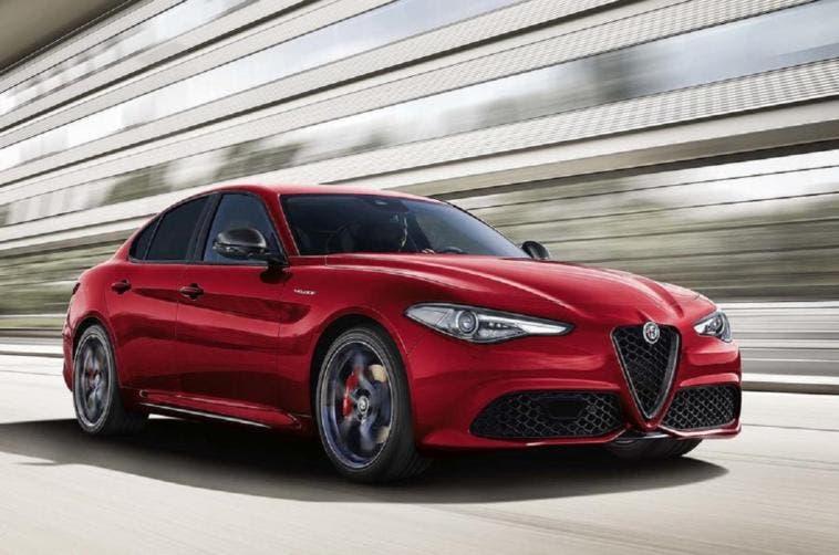 Alfa Romeo Giulia Veloce Ti Regno Unito