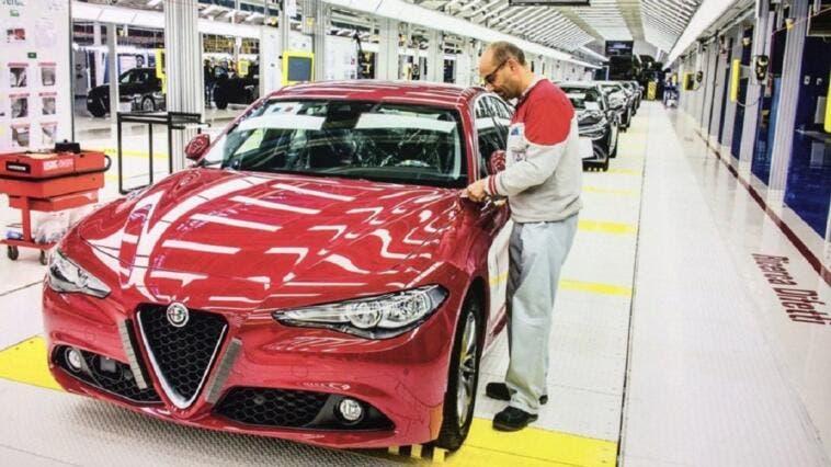 Alfa Romeo stabilimento Cassino dazi
