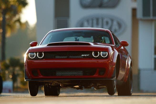 Dodge Challenger SRT Demon 2018 richiamo