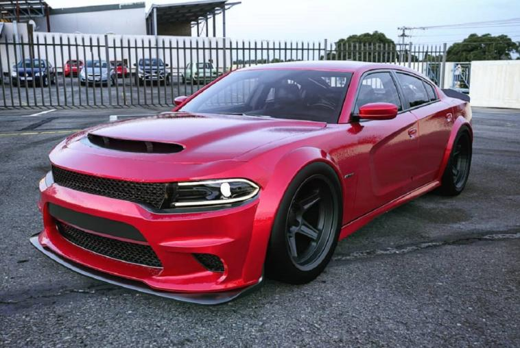 Dodge Charger SRT Demon concept render