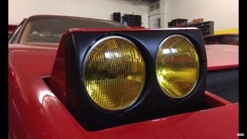 Ferrari 512 Berlinetta Boxer video