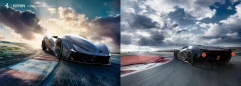 Ferrari F25 Concept
