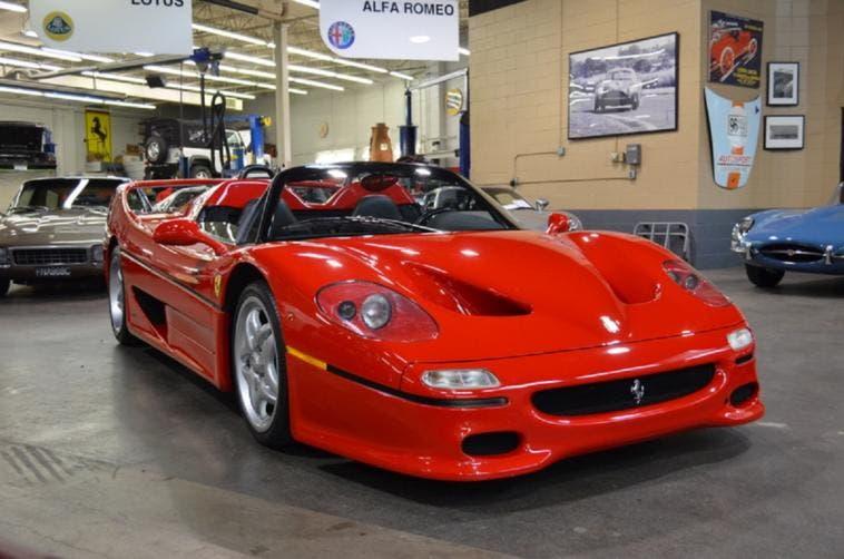 Ferrari F50 prototipo originale vendita