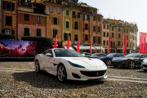Ferrari Portofino tour europeo successo