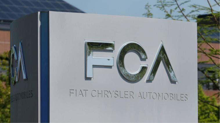 Fiat Chrysler Logo Fabbrica