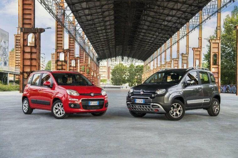 Fiat Panda vendite luglio Italia