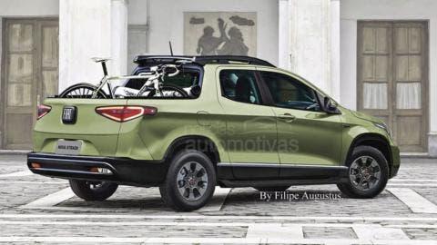 Fiat Strada 2020 render