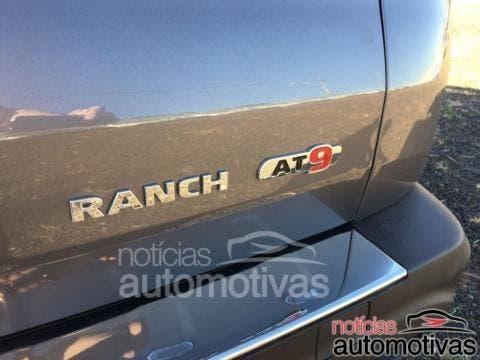Fiat Toro Ranch foto spia