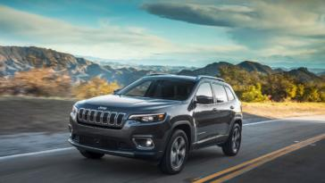 Jeep Cherokee 2019 esemplari Australia