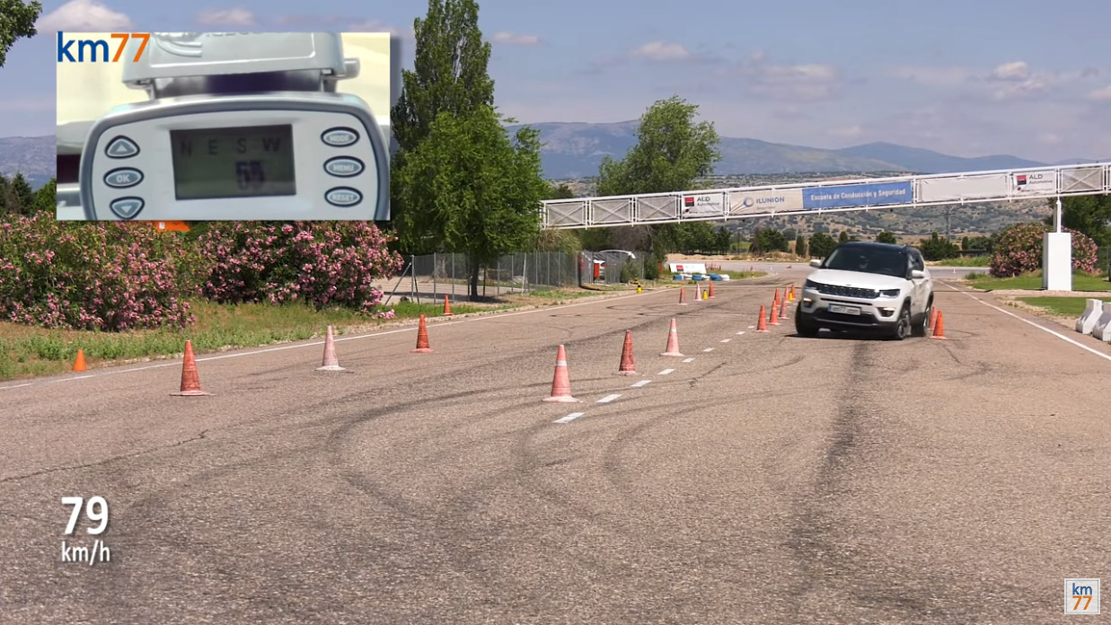 Jeep Compass e Grand Cherokee test dell'alce
