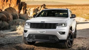 Jeep Grand Cherokee Upland ufficiale