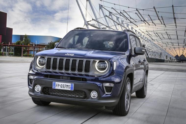 Jeep Renegade 2019 Regno Unito