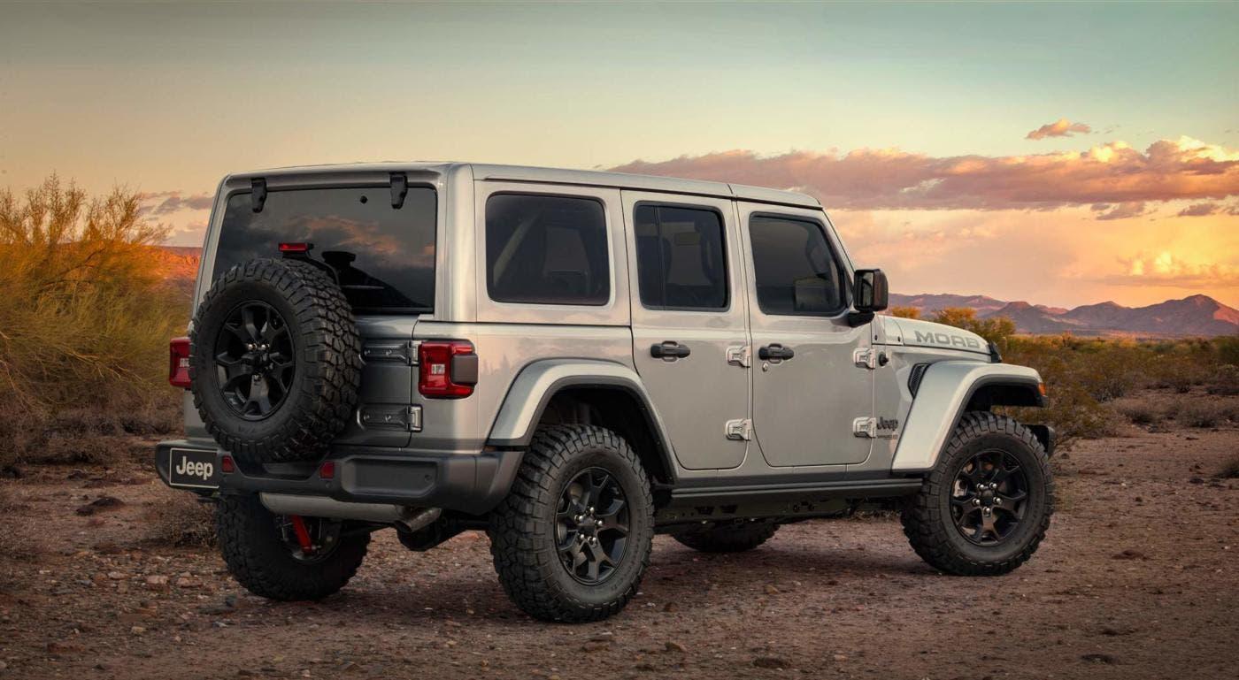 jeep wrangler moab edition 2018 svelata la versione speciale dell 39 iconico fuoristrada. Black Bedroom Furniture Sets. Home Design Ideas