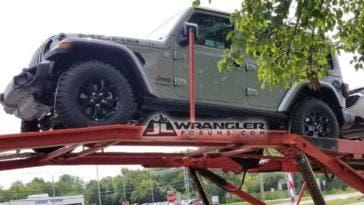 Jeep Wrangler Moab foto spia