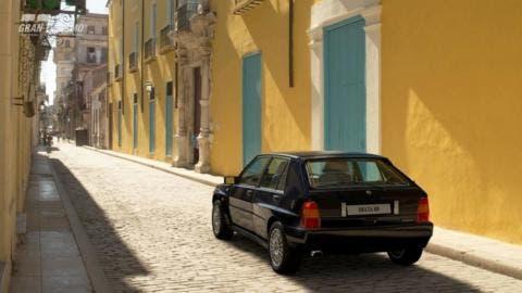 Lancia Delta HF Integrale Evoluzione Gran Turismo Sport 1.25