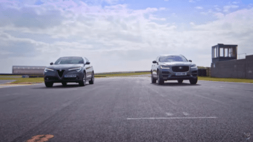 Alfa Romeo Stelvio vs Jaguar F-Pace Fifth Gear