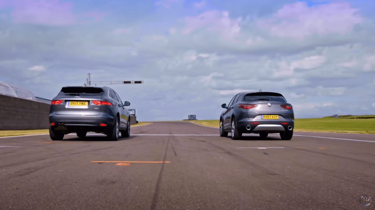 Alfa Romeo Stelvio vs Jaguar F-Pace Fifth Gear
