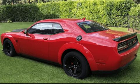Dodge Challenger SRT Demon esemplari asta